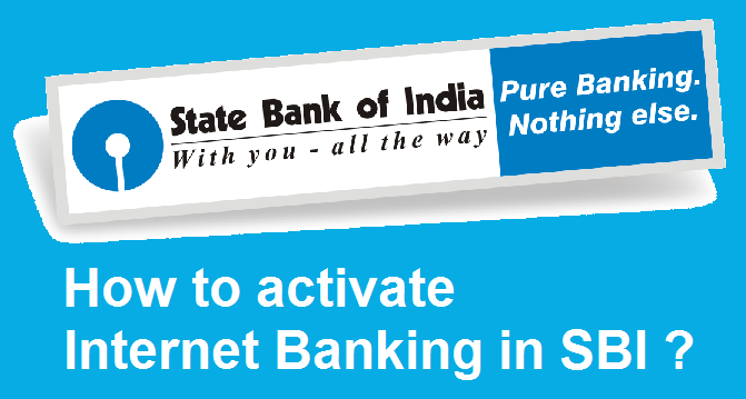 How to Activate Internet Banking in SBI