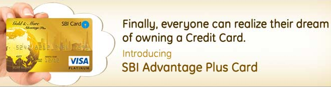 SBI Advantage Plus Card against Fixed Deposit