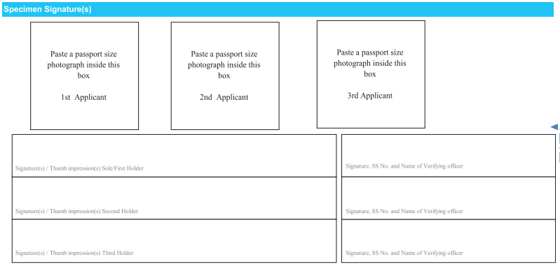 sbi rd opening form