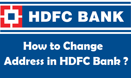 How to change your address in hdfc bank account spiritdancerdesigns Image collections