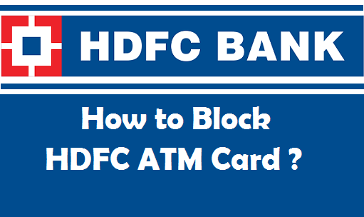Hdfc bank debit card block customer care number