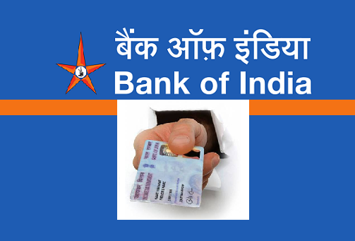 Update PAN Card in Bank of India Account