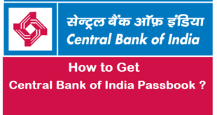 How to Get Central Bank of India Passbook