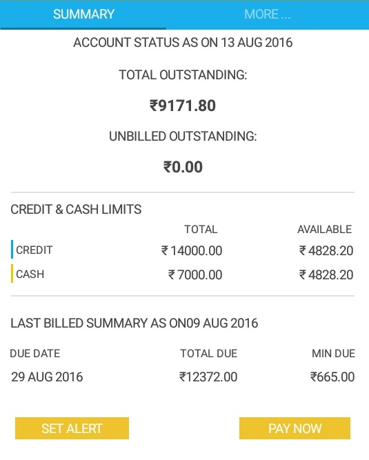 Check SBI Credit Card Due Amount Online