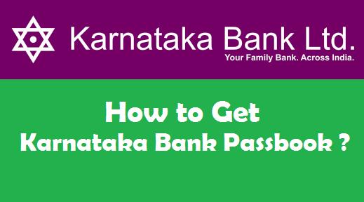 How to Get a New Bank Passbook in Karnataka Bank ?