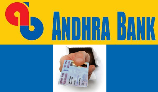 How to Update PAN Card with Andhra Bank Account