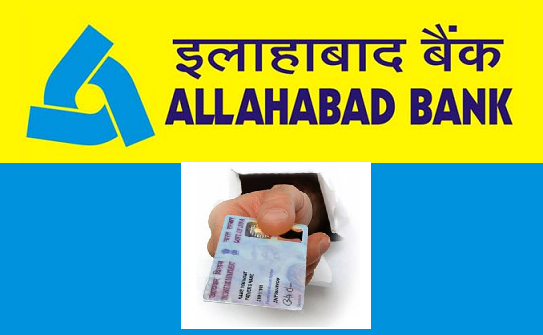 Update PAN Card in Allahabad Bank