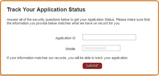 Check IndusInd Credit Card Application Status