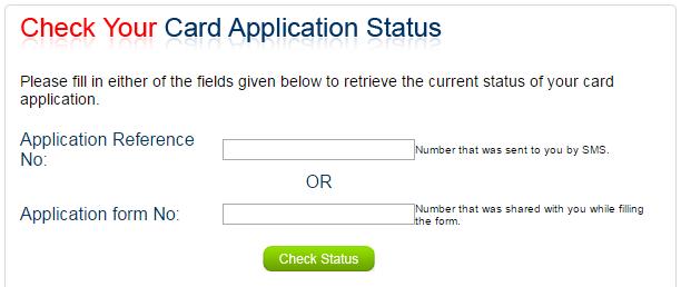 Check Kotak Mahindra Credit Card Application Status