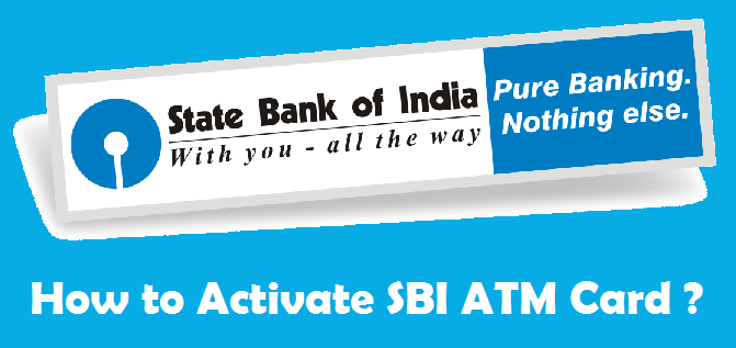How to Activate SBI ATM Card ? [ Online/Offline ]