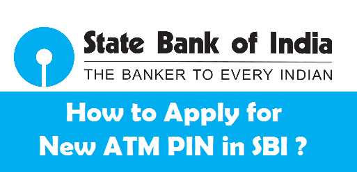 How to apply for a new atm pin in sbi onlineoffline spiritdancerdesigns Choice Image