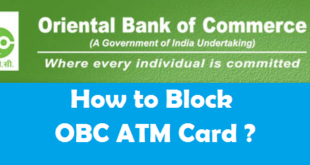 How to Block OBC ATM Card