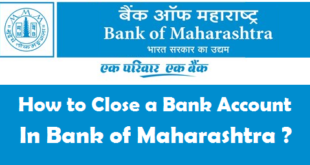 How to Close a Bank Account in Bank of Maharashtra