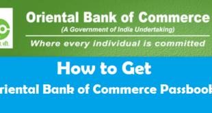 How to Get Oriental Bank of Commerce Passbook