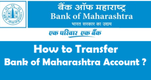 How to Transfer Bank of Maharashtra Account