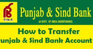 How to Transfer Punjab & Sind Bank Account