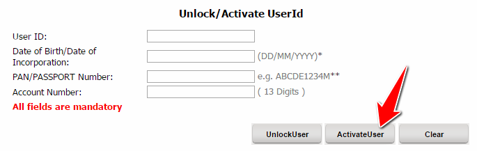 Activate Canara Bank Net Banking User ID