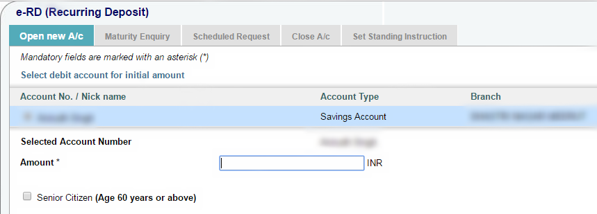 How to Open a Recurring Deposit (RD) in SBI ? [ Online / Branch ...