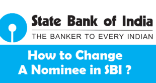 How to Change a Nominee in SBI