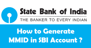 How to Generate MMID in SBI Account