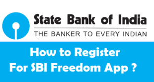 How to Register for SBI Freedom App