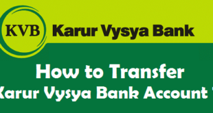 How to Transfer Karur Vysya Bank Account