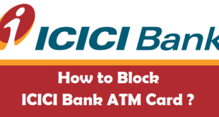 How to Block ICICI Bank ATM Card