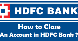 How to Close an Account in HDFC Bank