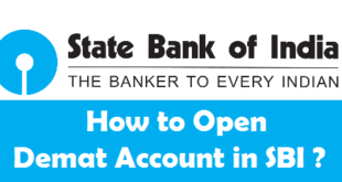 How to Open Demat Account in SBI