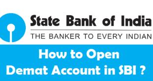 How to Open Demat Account in SBI