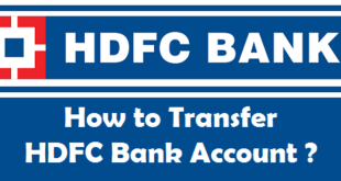 How to Transfer HDFC Bank Account