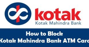 How to Block Kotak Mahindra Bank ATM Card
