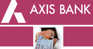 Update PAN Card in Axis Bank Account
