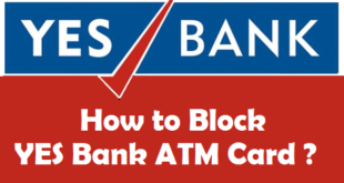 How to Block YES Bank ATM Card