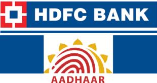 How to Link Aadhaar Card with HDFC Bank Account