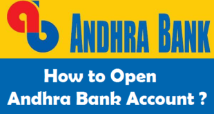 How to Open a Bank Account in Andhra Bank