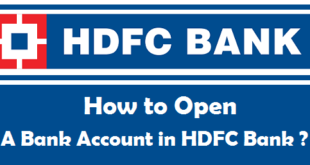 How to Open a Bank Account in HDFC Bank