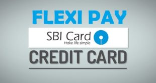How to Book Flexipay in SBI Credit Card