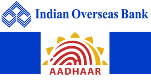 How to Link Aadhaar Card with Indian Overseas Bank Account