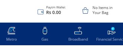 Check Paytm Balance