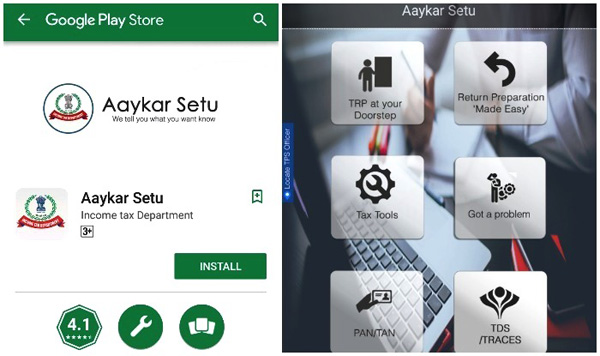 Aaykar Setu App