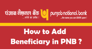How to Add a Beneficiary in PNB Net Banking