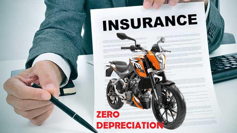 What is Zero Depreciation in Two Wheeler Insurance