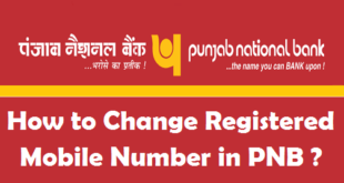 How to Change Registered Mobile Number in PNB