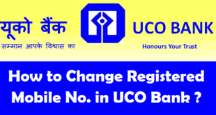 How to Change Registered Mobile Number in UCO Bank