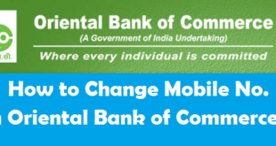 How to Change Registered Mobile Number in OBC