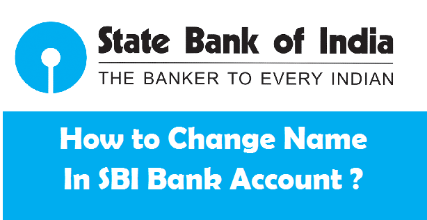 How to Change your Name in SBI Account