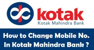 How to Change Registered Mobile Number in Kotak Mahindra Bank