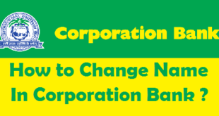 How to Change Name in Corporation Bank Account