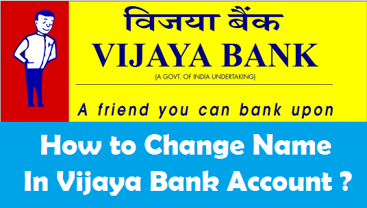 procedure to change name in bank account after marriage